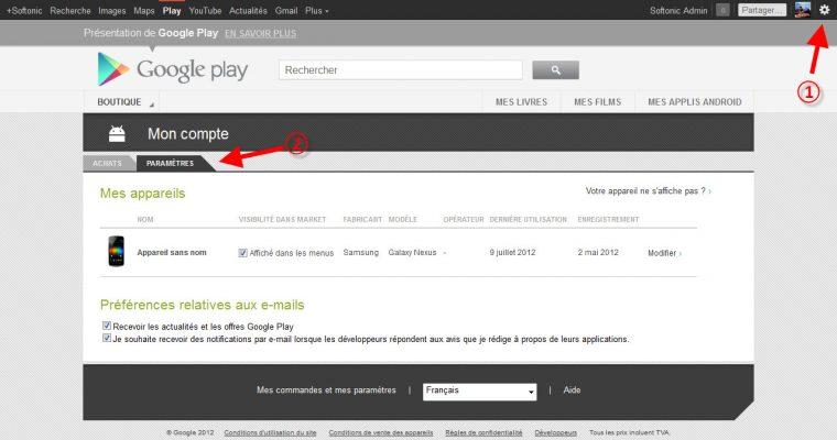Comment créer un compte google play ?