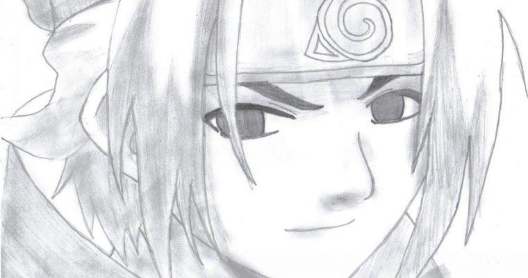 Comment dessiner sasuke ?