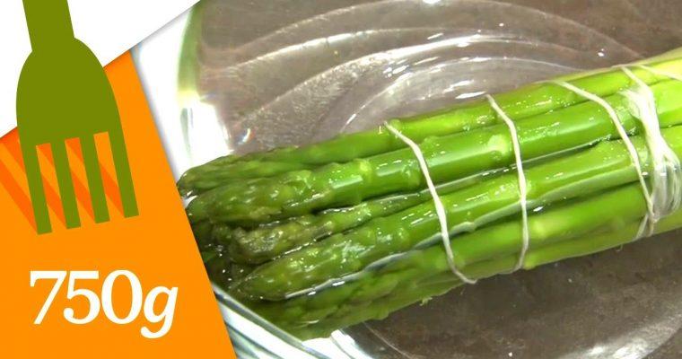 Comment préparer les asperges vertes ?